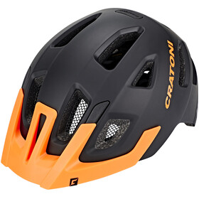 Cratoni Maxster Pro Helmet Kids black-orange matt